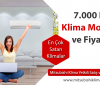 7000 BTU Klima Modelleri ve Fiyatları